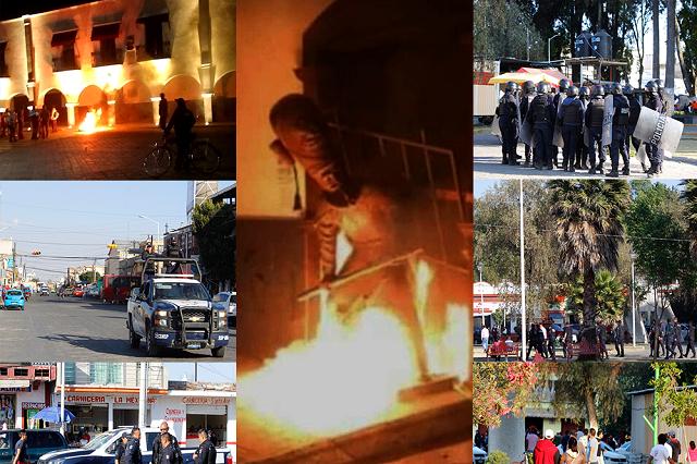 Tras desmanes en Huejotzingo, alcaldesa va contra exedil