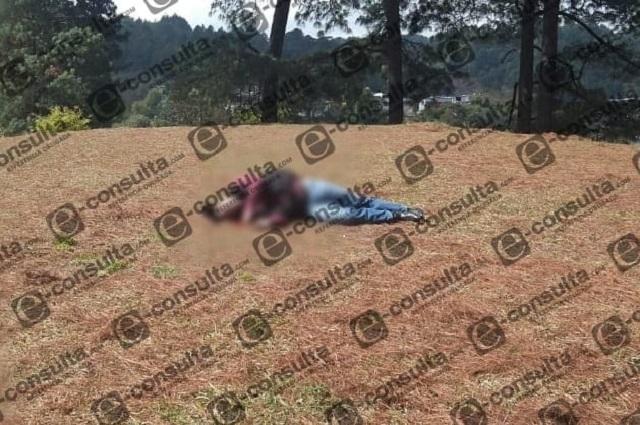 A tiros, asesinan a hombre en El Ahuacatal