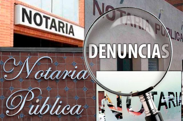 Sí hay denuncias por notarías irregulares, asegura Barbosa