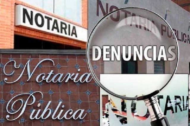 Tras detención, notaria 11 de Tehuacán renuncia a su patente