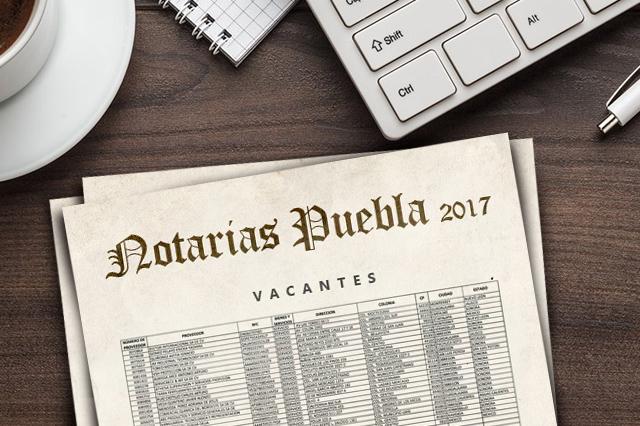 Darán 10 notarías más en Puebla; suman 29 al cerrar el sexenio
