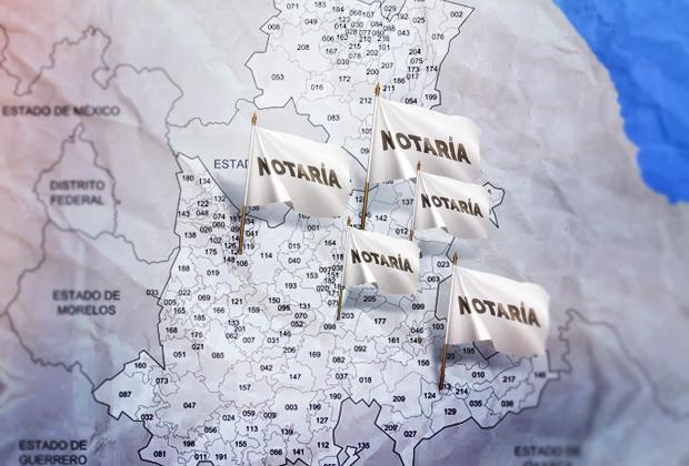 Crecen hasta 200% notarías en regiones ricas de Puebla