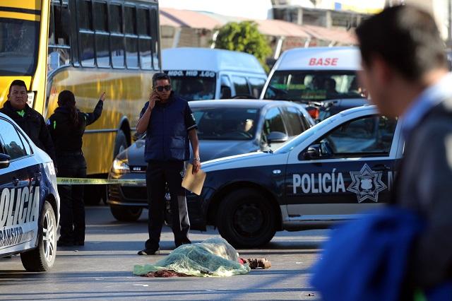 Encabeza Puebla capital muertes por atropellamiento en el país