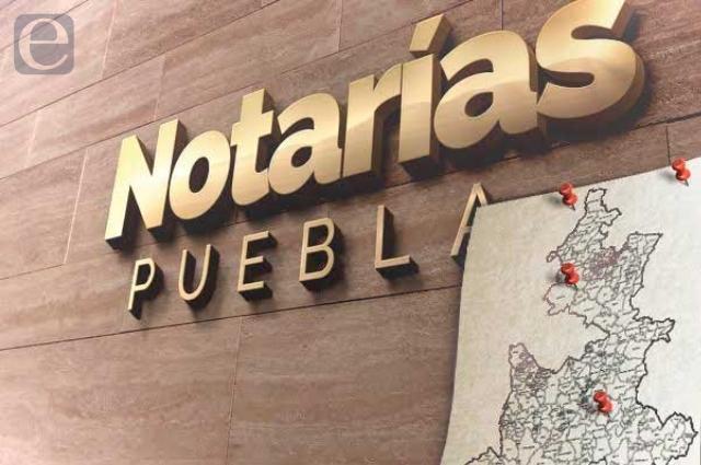 Oficializa gobierno suspensión de notaría 1 de Tepeaca
