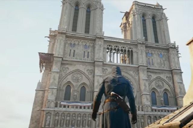 Assassin's Creed Unity se une a la reconstrucción de Notre Dame