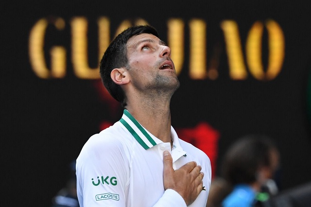 Novak Djokovic iguala marca de Federer como el tenista número 1