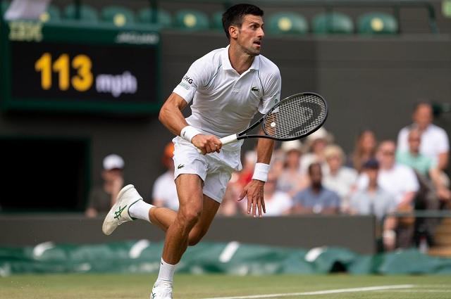 Djokovic está en los octavos de final de Wimbledon
