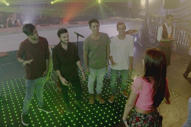 La banda uruguaya Marama participa en Mi marido tiene familia