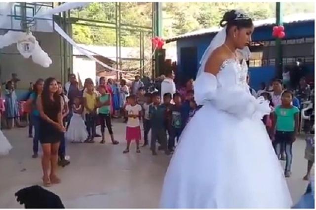 ¿Chica del video de la boda más triste de México fue obligada a casarse?