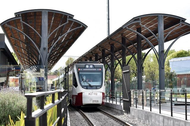 Descarta gobernador cancelar tren turístico Puebla- Cholula