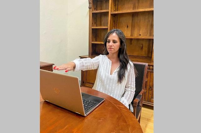 Ángeles Rodríguez rinde protesta como titular de Museos Puebla