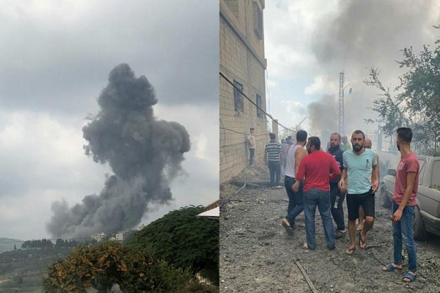 Captan nueva explosión en Líbano a más de un mes de tragedia en Beirut