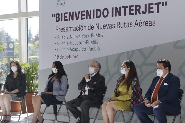 Según Barahona embargo a Interjet no afecta a rutas con Puebla