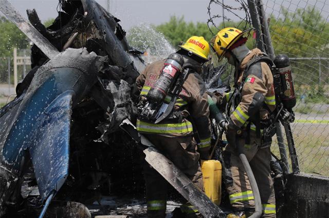 Cae avioneta en Nuevo León; reportan por lo menos 4 muertos