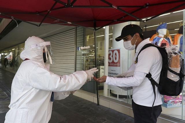 Reportan 396 nuevos contagios de Covid-19 en Puebla