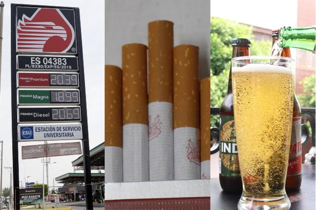 Hacienda recibirá el 2020 con nuevo impuesto sobre gasolina, cigarros y bebidas