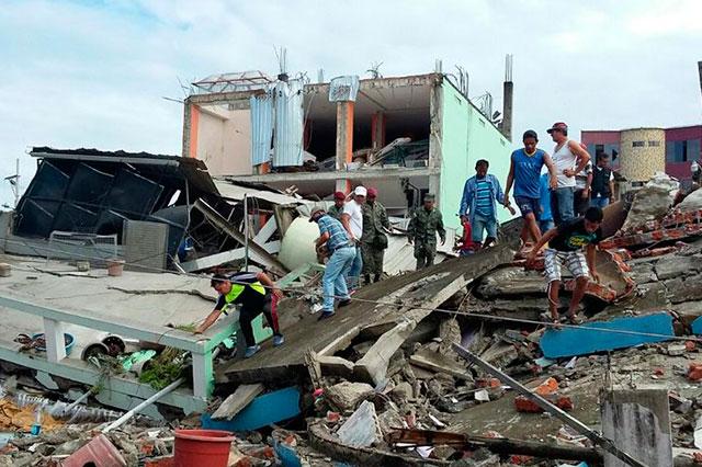Un sismo de 6 grados sacude otra vez a Ecuador