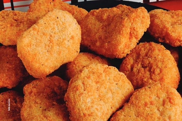 ¿Nuggets de pollo son 100 por ciento de carne o qué contienen?