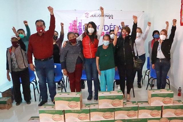Impulsa alcaldesa programas de nutrición en Huejotzingo