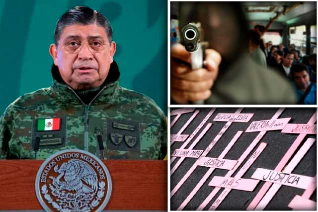 Oaxaca presenta alza en feminicidios y robo en transporte