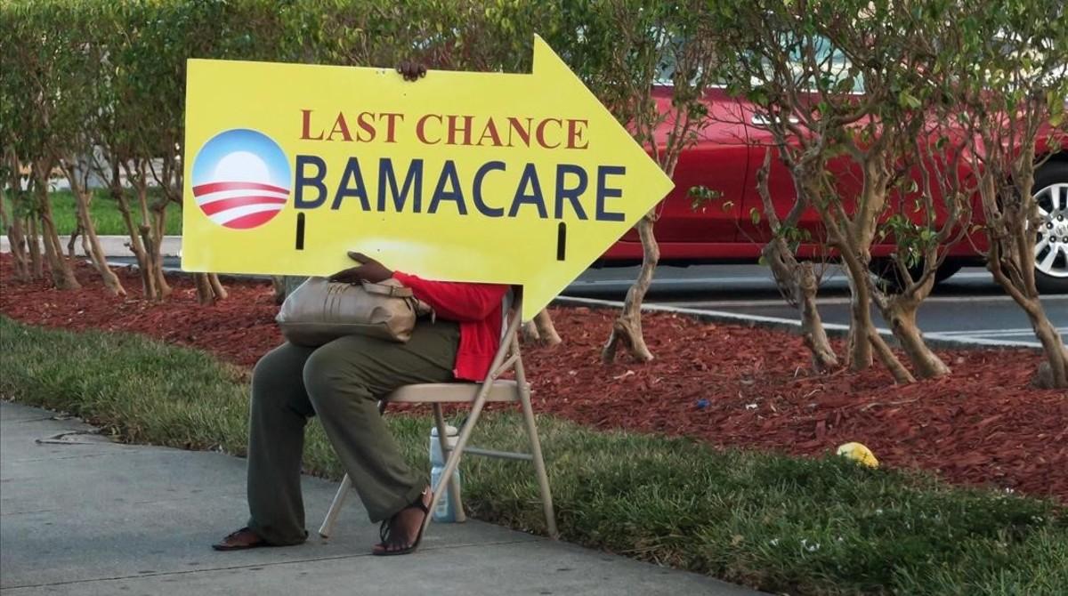 Trump da revés a Obamacare