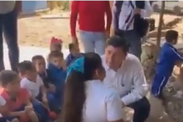 Nancy, la niña que exhibió el alcalde de Ahome, ya no quiere ir a la escuela