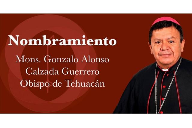 Nombra el Papa Francisco a nuevo obispo en Tehuacán