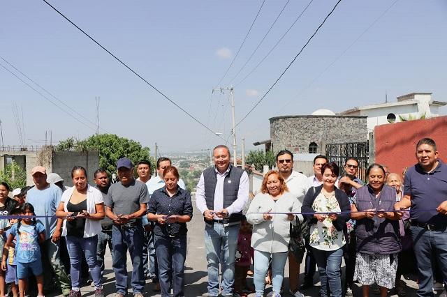 Invierte Atlixco 686 mil pesos en obra de drenaje