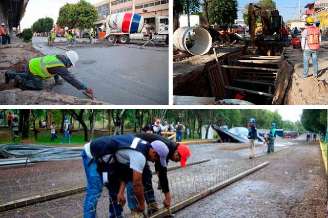 Remodelarán Paseo Bravo y harán ciclovía en Amalucan en 2016
