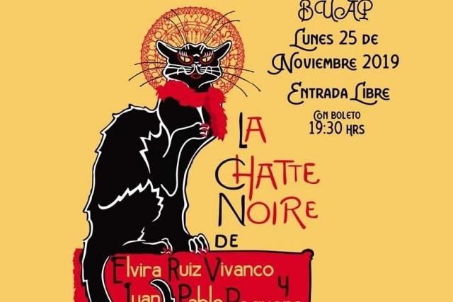 Estreno Mundial de la obra La chatte noire en el CCU de la BUAP