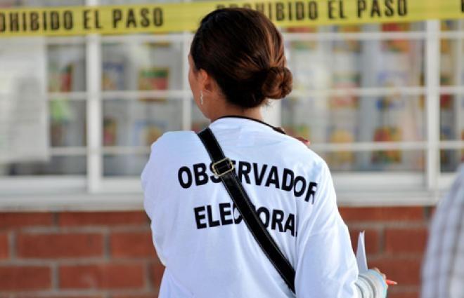 Observadores electorales en 2019 no gastaron ni un peso