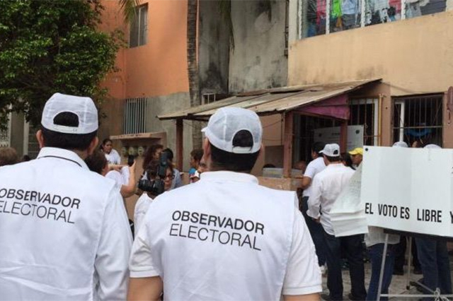 Hasta el 31 de Mayo, plazo para inscribirse como observador electoral