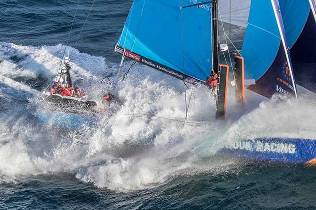 La Volvo Ocean Race. En la punta sur de África, Ciudad del Cabo... A la vista