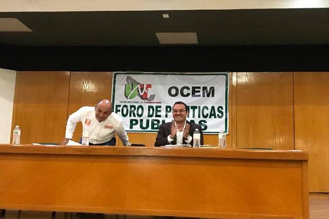 Desairan candidatos a alcaldía foro municipal de políticas públicas