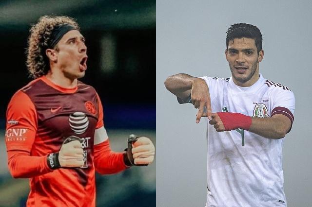 Ochoa y Jiménez figuran dentro del 11 ideal de la Fecha FIFA