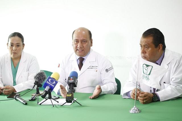 Logra IMSS Puebla octavo trasplante multiorgánico en 2019