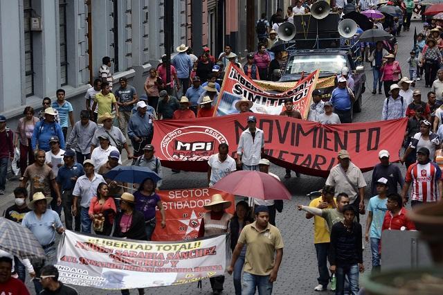 Confía gobierno municipal cesen marchas de la 28 de octubre