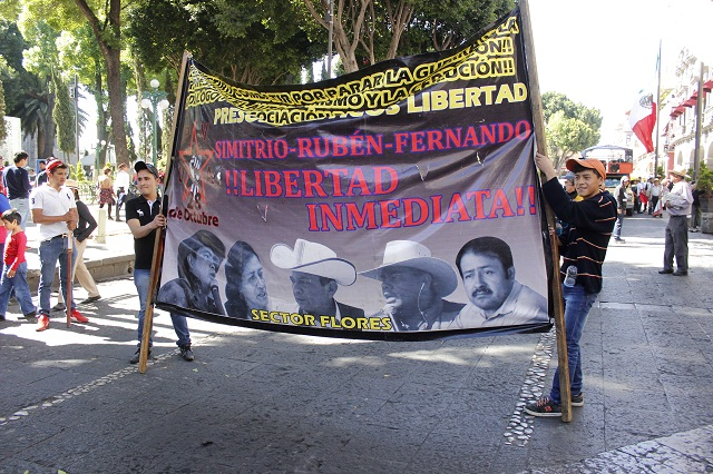 Marcha la 28 de octubre e insiste en diálogo con el gobierno estatal