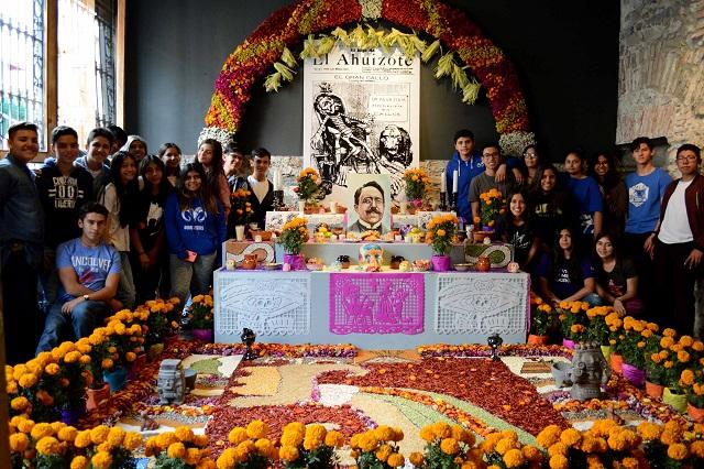 Ofrenda Museo Tec de Monterrey, dedicada al valor de la palabra