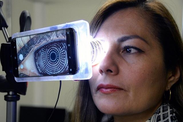 Desarrollan dispositivo para diagnosticar problemas oculares