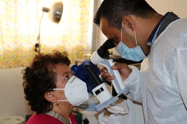 Realiza Issstep 181 cirugías oftalmológicas en Teziutlán
