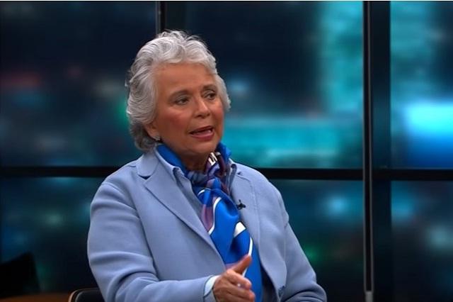 Olga Sánchez Cordero intentará reunirse con gobernadores panistas