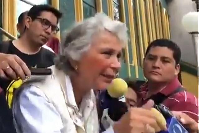 De qué se quejan, dice Olga Sánchez Cordero a gobernadores panistas