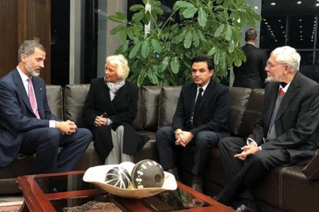 Llega a México el rey Felipe VI de España para asistir a investidura de AMLO
