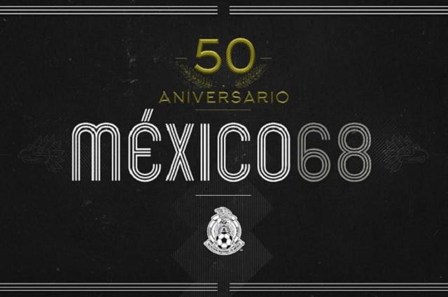 Festejan 50 años de los Juegos Olímpicos México 68
