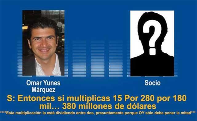 Denuncian negocio de 50 mdd de hijo de Miguel Ángel Yunes