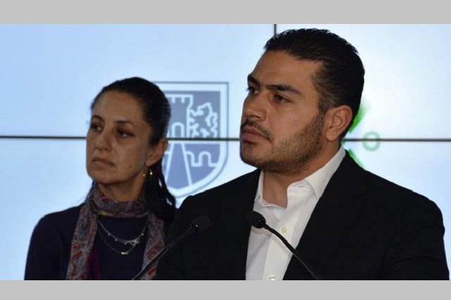Sale del hospital Omar García Harfuch 10 días después del ataque