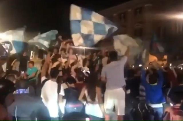 OMS tacha de 'miserables' festejos en Napoli tras ganar Copa de Italia