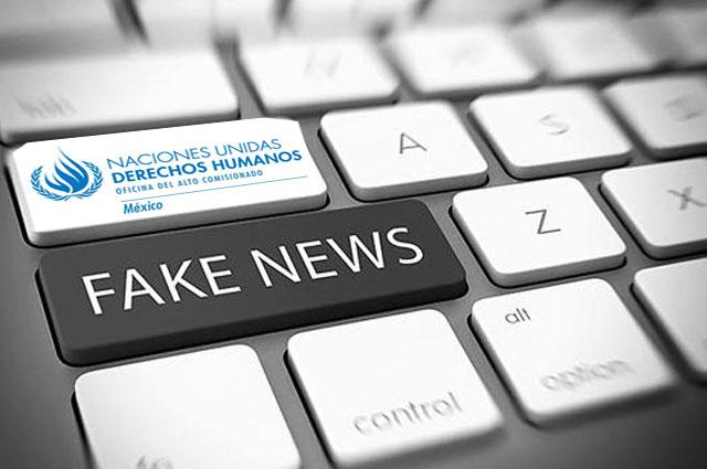 ONU condena reforma de Biestro contra fake news y exige rechazarla