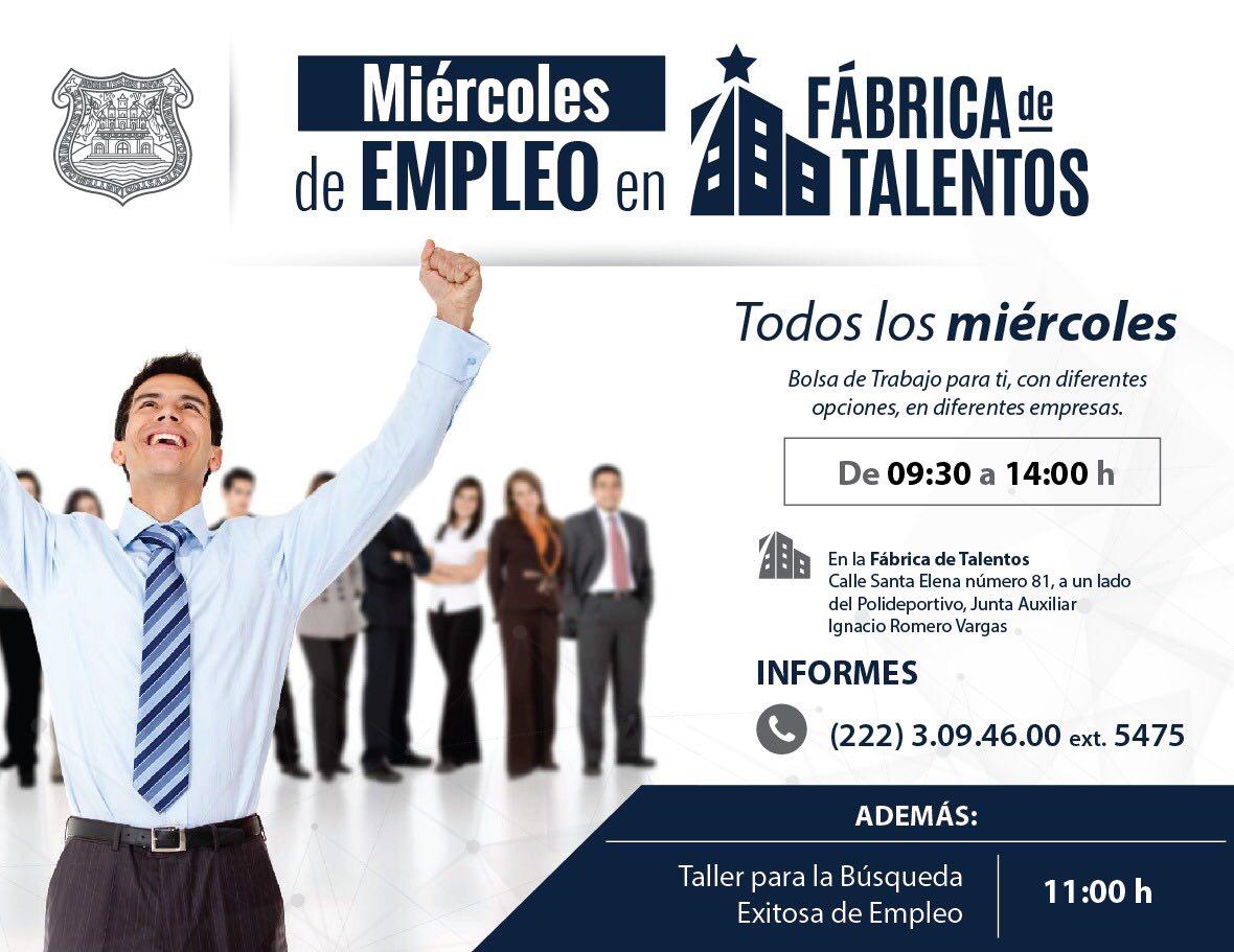 Miércoles de empleo en la Fábrica de Talentos, del gobierno capitalino